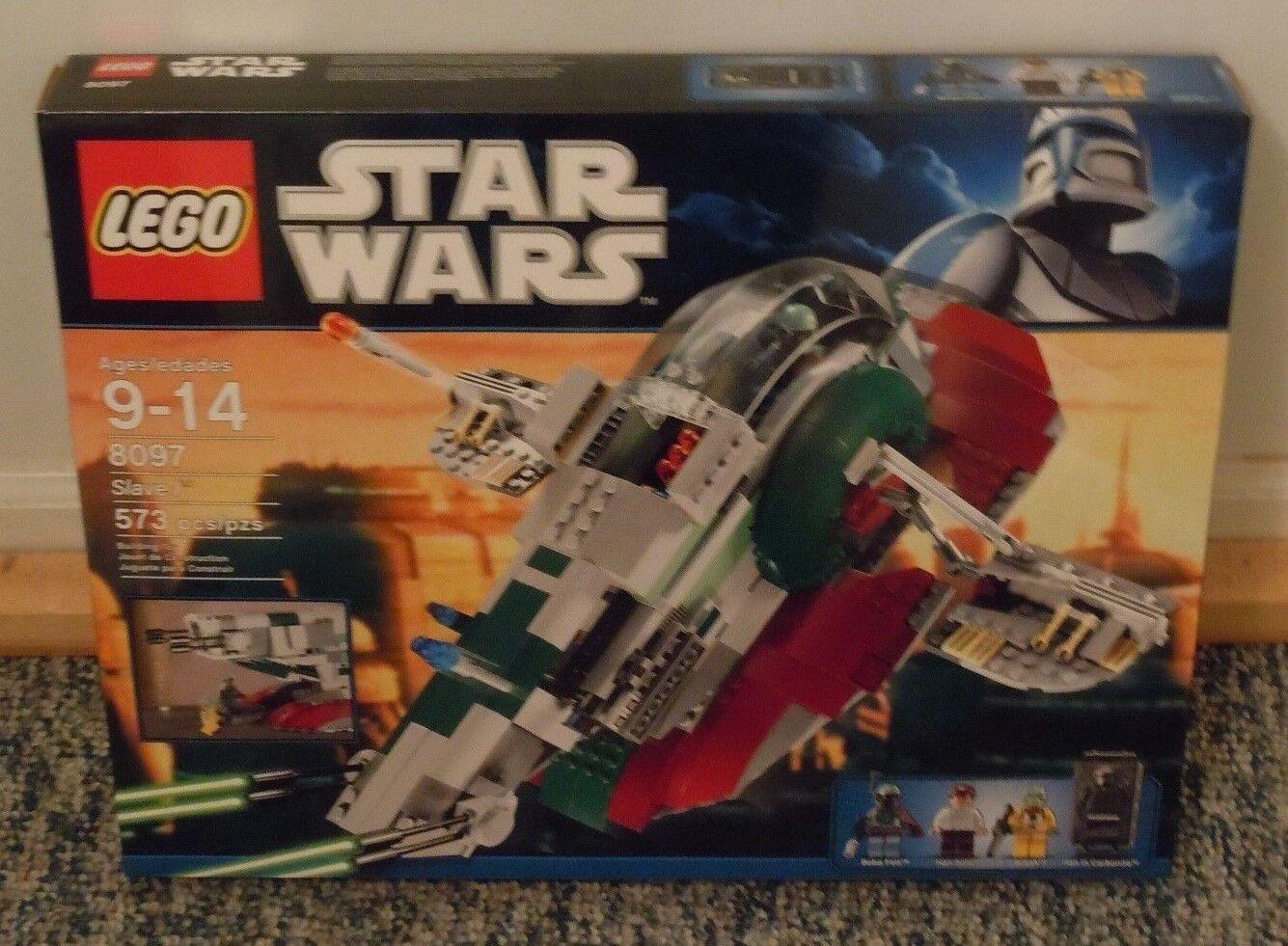 LEGO Star Wars Slave I Set 8097 Nuovo BOBA FETT BOSSK HAN SOLO Minifigs