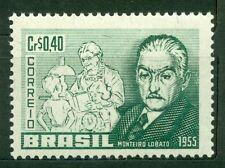 Brazil 1955, Jose´ B. Monteiro Lobato Author, Sc# 829, MNH, 2262