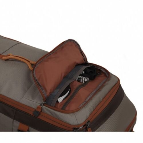 45L CAPACITY NEW FISHPOND TETON ROLLING CARRY-ON FISHING LUGGAGE BAG