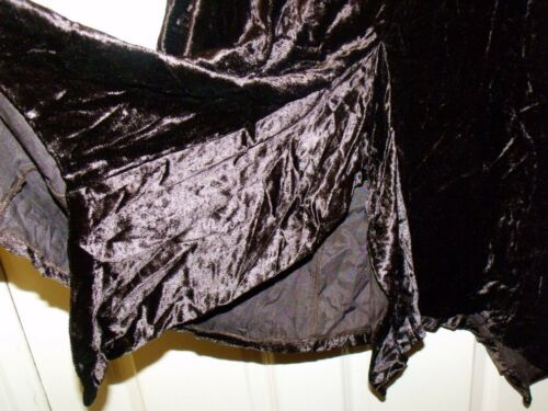 NEW GORGEOUS QUALITY BLACK OR BROWN VELVET SKIRT SIZES 8//10 10//12