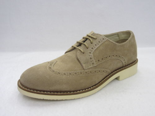Élégant Lacets Cuir De Chaussures À Style Brogue Daim Hommes Entreprise Je qw4gIg