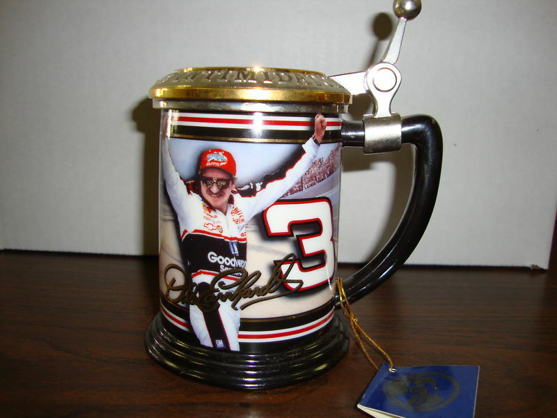 Dale Earnhardt - The Winners Circle Collectors Tankard--The Franklin Mint--COA