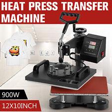 12x10 Digital Heat Press Machine T Shirt Transfer Sublimation Swing Away Hot