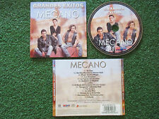 MECANO **Grandes Exitos** VERY RARE & UNIQUE PICTURE CD Venezuela ANA TORROJA