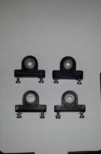 2cm Achsenlager Bruder Modellbau 6xLagerbock,Stehlager für Wellen mit  6mm//
