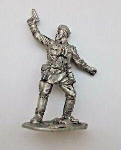 1//30 Soviet WWII Marine with Thompson Submachine Gun Tin Metal soldier 65 mm NEW