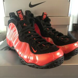 "quality design dfca2 aec66 Details about New! Nike Air Foamposite One ""Habanero Red"" 314996-603 Size 7  Retail $230"