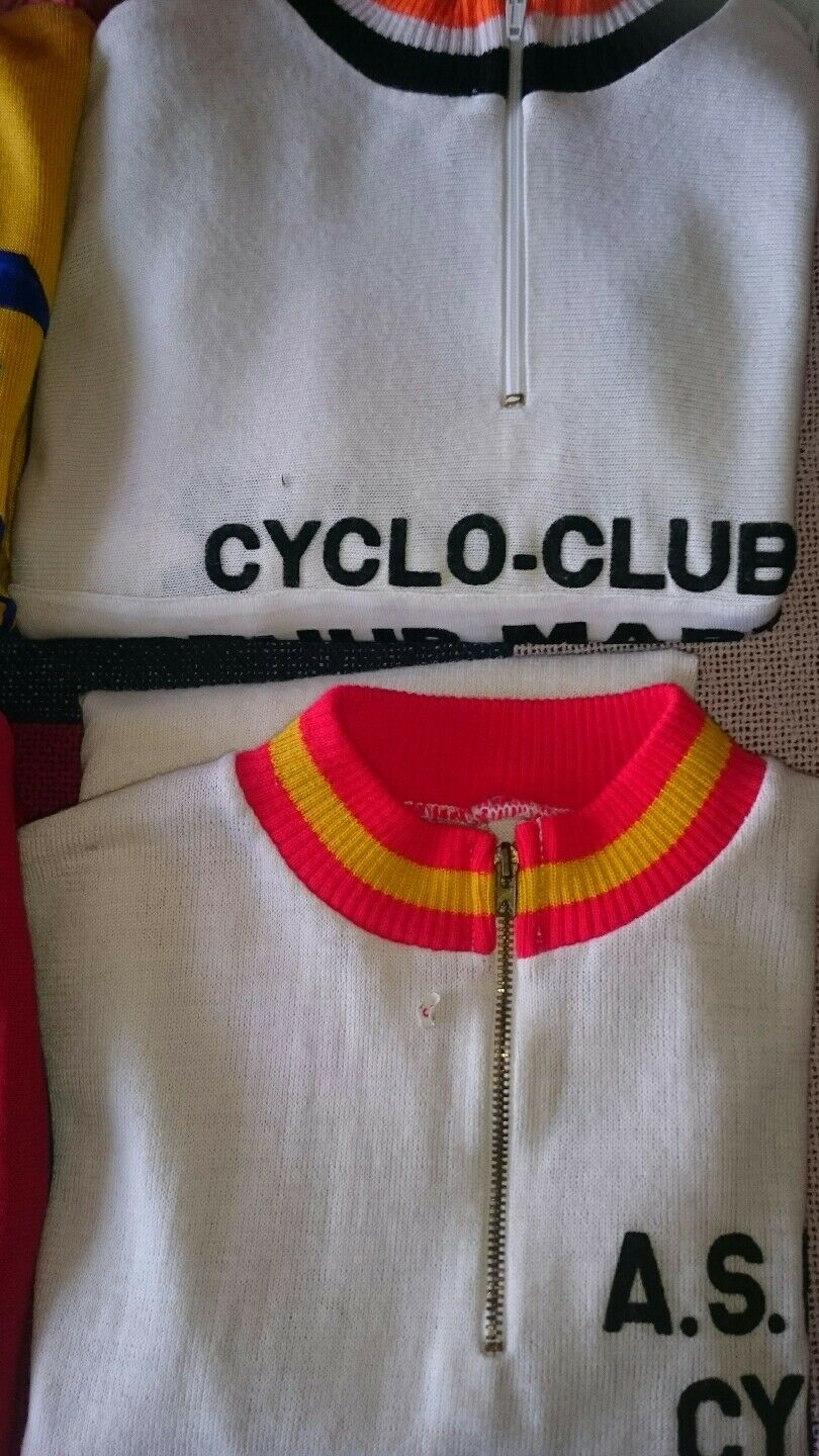 Maillots Cyclistes Année 1970 -80