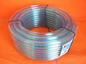 NEU-PVC-Schlauch-25m-Wasserschlauch-Luftschlauch-Benzin-2-3-4-5-6-8-10-12mm