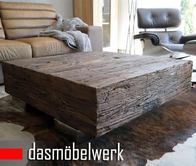 Massivholz Recycling Antik Look Holz Tisch Couchtisch