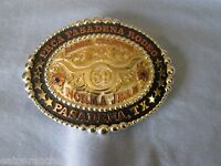 Mortenson Ruby Custom Rodeo Trophy Belt Buckle Retro Awards Custom 4 You Steer
