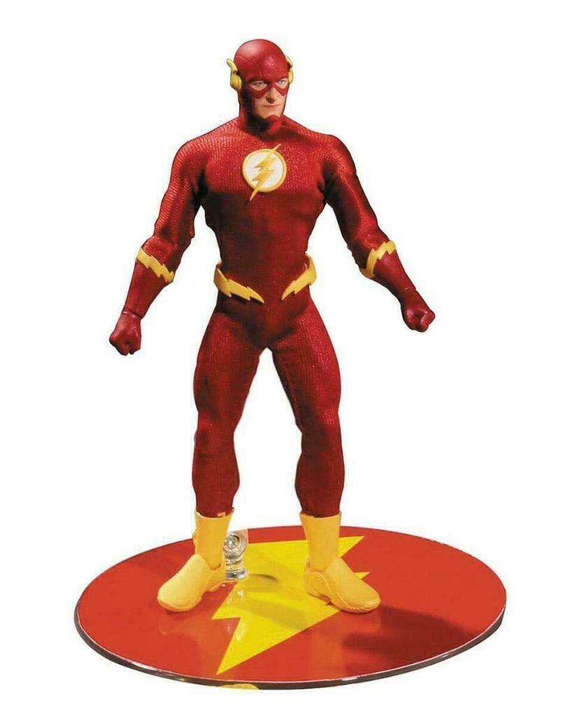 The Flash Mezco One 12 Collective 1 12 cifra DC Comics
