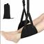 Travel-Airplane-Foot-Rest-Comfy-Hanger-Hammock-Foot-Hanger-Premium-Memory-Foam thumbnail 1