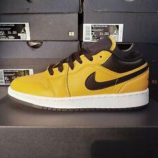 Size 6 - Jordan 1 Low University Gold Black for sale online | eBay