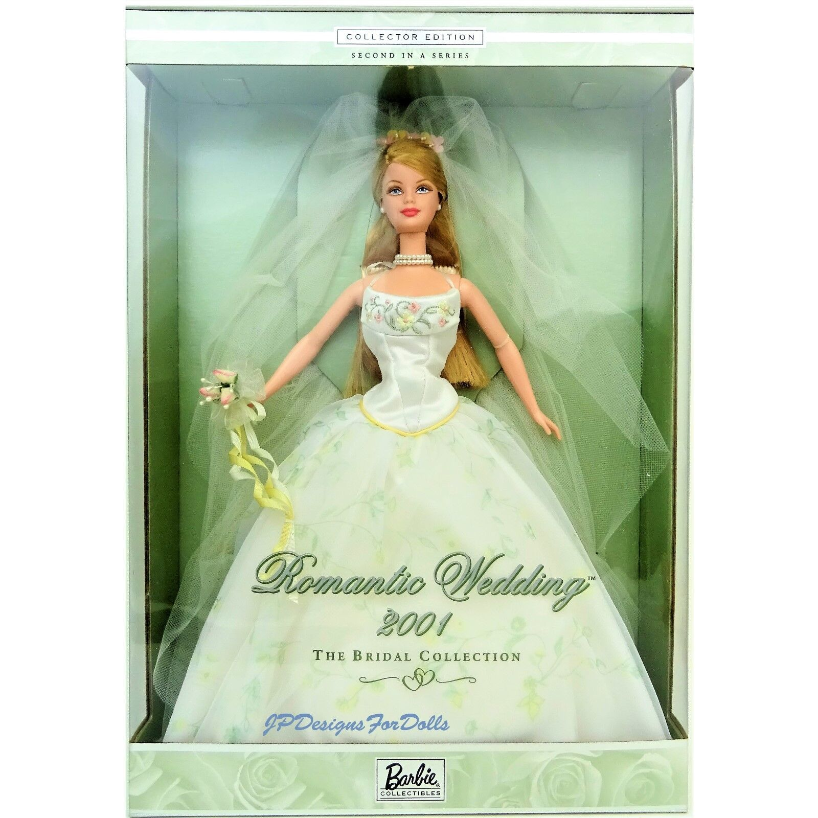 Romantic Wedding 2001 The Bridal Collection Barbie Doll New in Box