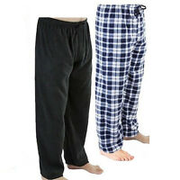 2-Pack Rugged Frontier Men's Plaid Fleece Lounge Pant (Assorted Colors)