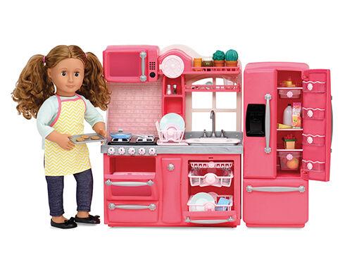 Our generation-Gourmet Set da cucina per bambola 46 cm