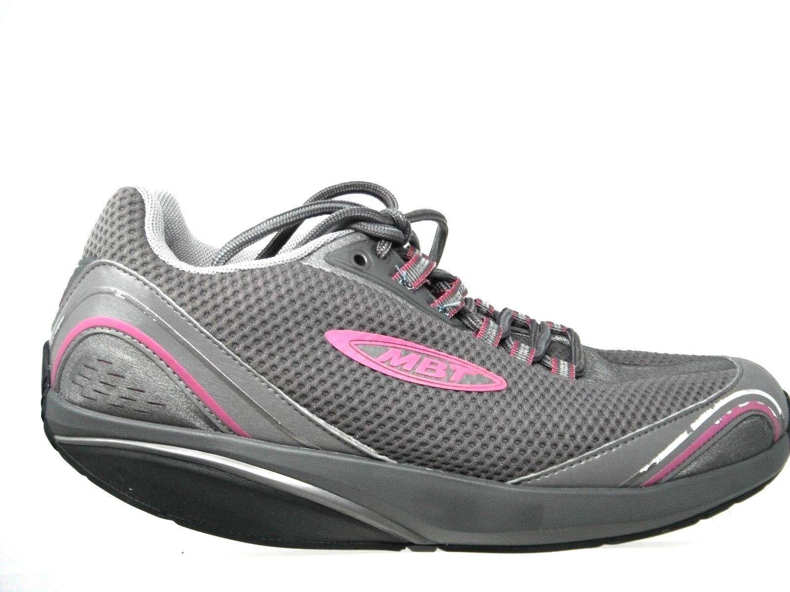 MBT Mahuta Gull 400284-133 Pink Grey Orthopedic Sneaker Womens Size 40 9-9.5
