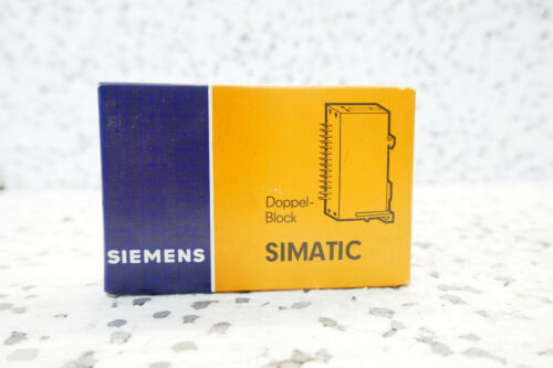 Siemens Simatic c1 6ec1 700-3a doble bloque