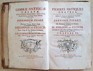 Bernard-Picart-1673-1733-69-Kupferstiche-Gemmologie-Amsterdam-Anno-1724