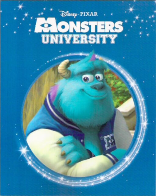 Disney Pixar MONSTERS UNIVERSITY New 2016 Parragon paperback Classic Collectable