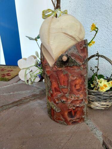 Geschenk Muttertag Dekoration Landhaus Gartendeko Holz Herz