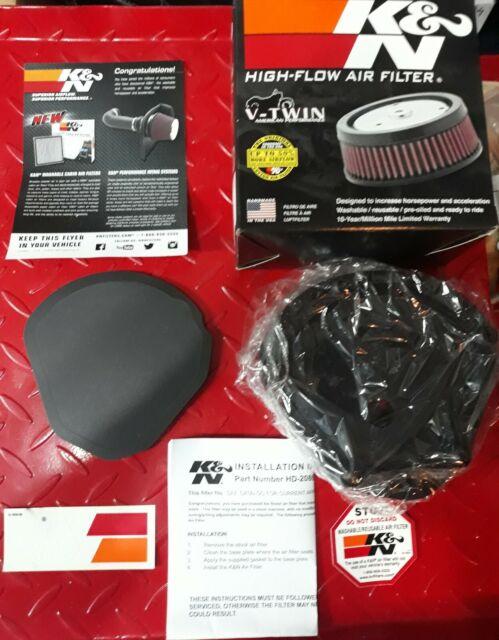 K&n Filtros Aire Deportivo de Reemplazo para Harley Davidson HD-2086