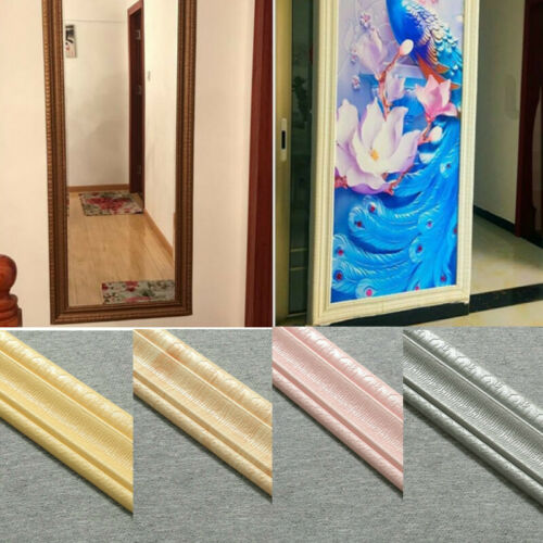2.3M Sockelleiste Bordüre Aufkleber Selbstklebend Wasserfest 3D Tapete Dekor