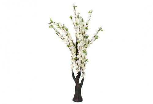 Dekorative Blume  Weiß  130x38 cm
