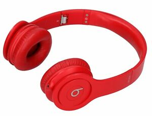 Beats Solo Hd Wired On Ear Headphone Red Ebay