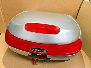 NEW-SHAD-SH48-Silver-Top-Box-amp-2-Keys-amp-Fitting-Plate-D0B805