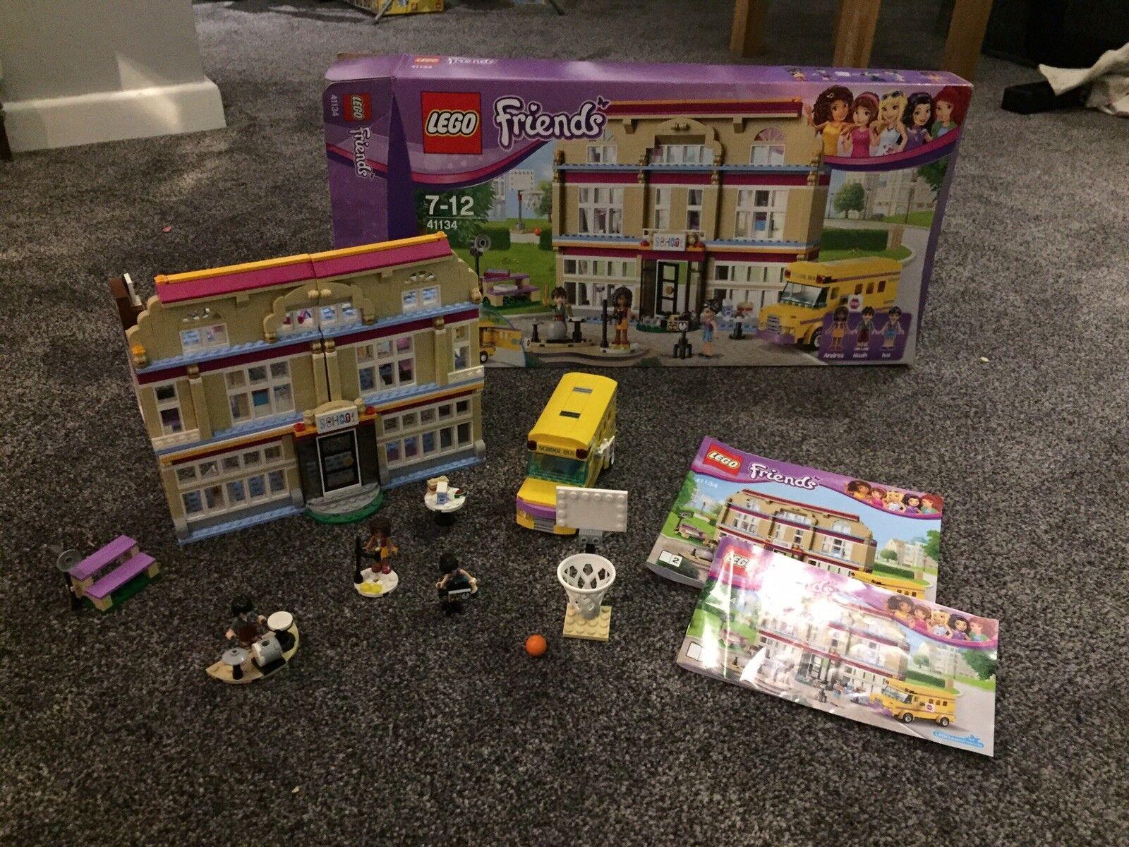Maison neuve, satisfaite de la famille LEGO Friends Heartlake école école école a5ac7e