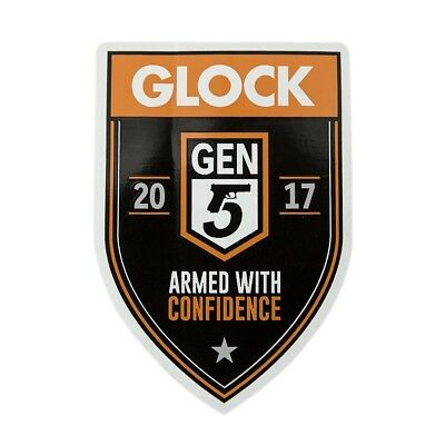 Glock authentic Sticker Decal