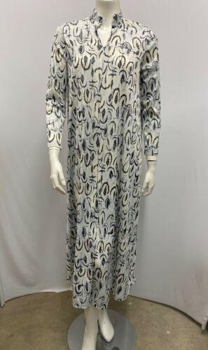 Vintage Vera Formfit Rogers Loungewear Robe Dress