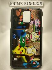 USA Seller Samsung Galaxy S5 SV Anime Phone case Pokemon Pikachu Mew Poker Game