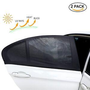Car Window Sun Shade Blind Kids Baby Sunshade Blocker For Vauxhall Meriva Mokka