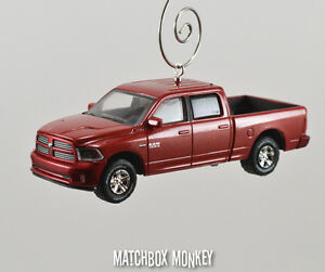 2014 dodge ram sport 1500 quad cab truck christmas ornament 5 7 v8 hemi pickup ebay. Black Bedroom Furniture Sets. Home Design Ideas