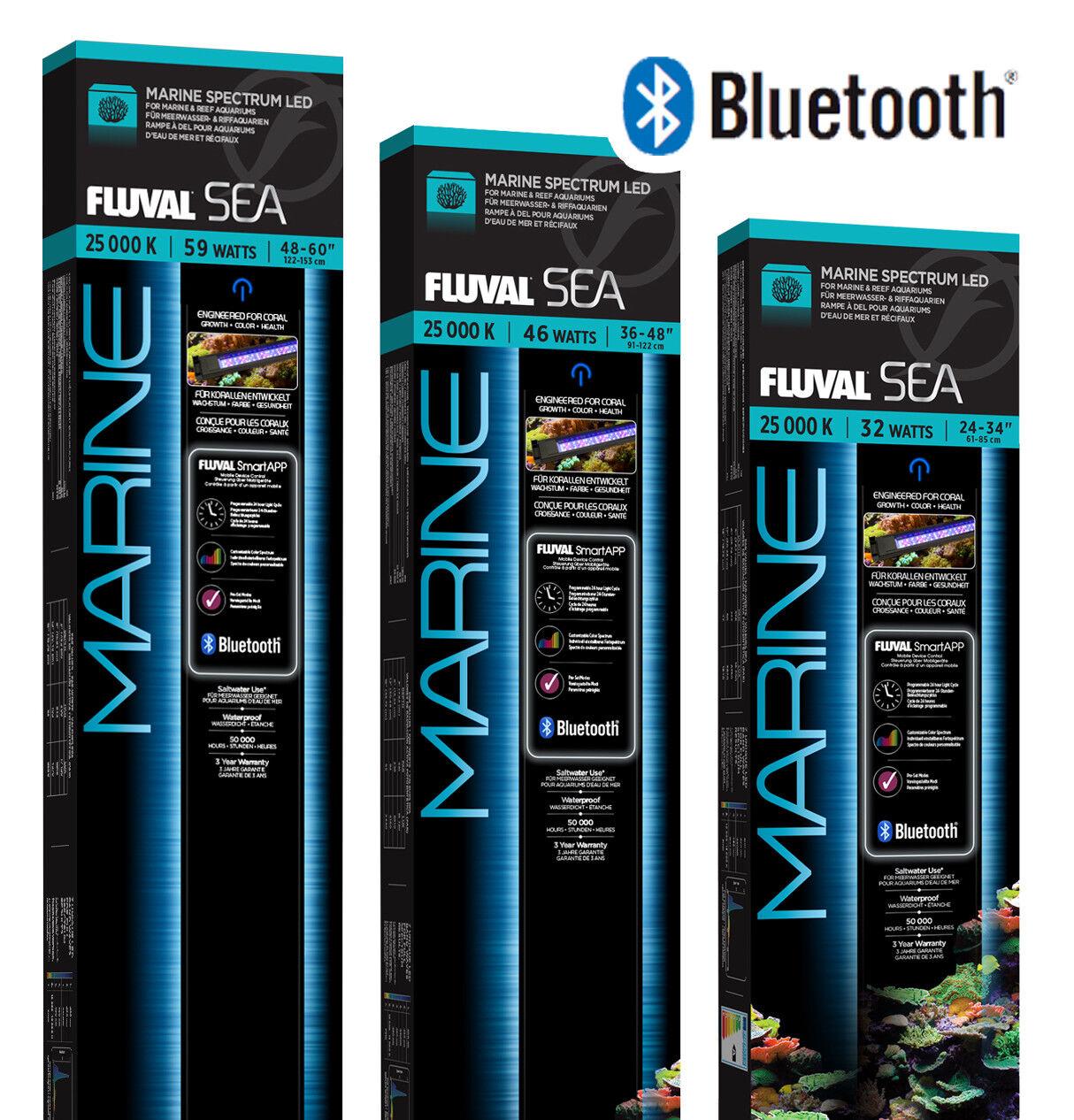 FLUVAL Sea Marine 3.0 LED Illuminazione con controllo BLUETOOTH CICLO Acquario Fish Tank