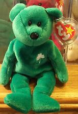 Ty Beanie Babies Original Erin of the Emerald Isle DOB March 17, 1997 MWMT Box