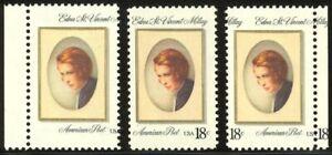 1926-2-Margin-Varieties-18c-Millay-NH