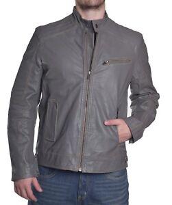 052745c43 INC International Concepts Men's $399.50 Premium Goat Leather Jacket ...