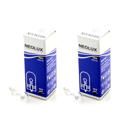 Park Light Beam Headlamp Bulbs 2x Neolux Clear Standard Halogen Side