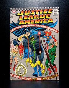 COMICS-DC-Justice-League-of-America-53-1967-RARE-flash-batman-superman