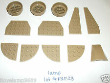 LEGO Tan Star Wars Plates 60208 50305 30565 47753 32059 50304 4 8096 10195 7627
