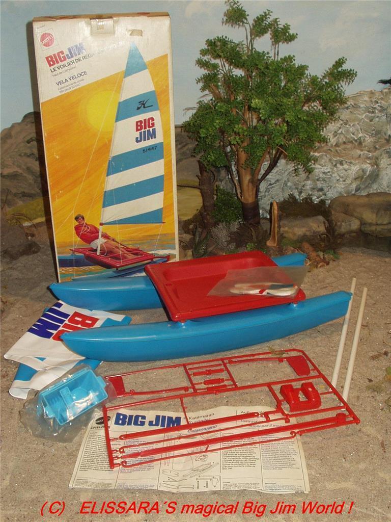Big Jim - - KATAMARAN  - - OVP / SUNRUNNER / CATAMARAN / VELA VELOCE - MIB - Mattel 01231a