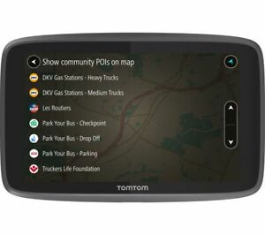"""TOMTOM GO Professional 6200 HGV 6"""" Sat Nav - Full Europe Maps - Currys"""