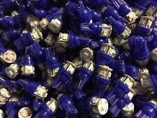 (8)COOL BLUE LED WEDGE BASE 8V LAMP/ SX-980/MC 2255/MC 7270 MC 2500/MC 7200/DIAL