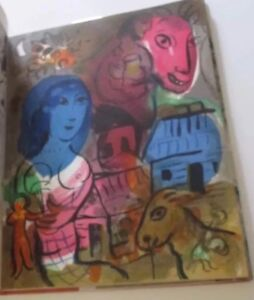 ORIGINAL-MARC-CHAGALL-LITHOGRAPH-IN-THE-HOMAGE-SPECIAL-ISSUE-OF-XX-SIECLE-BOOK