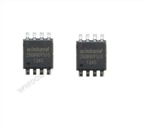 5Pcs Winbond W25Q80BVSIG 25Q80BVSIG Spi Falsh SOIC8 8M-BIT//1M-BYTE nn 209MIL