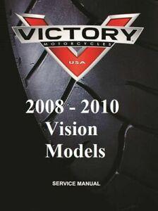 Victory Vision 2008 2009 2010 Repair Service Maintenance ...